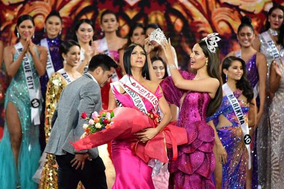 فيديو وصور ملكة جمال الفليبين الفلسطينية الأصل تؤدي رقصة شرقية وتبهر الجميع صورة رقم 4