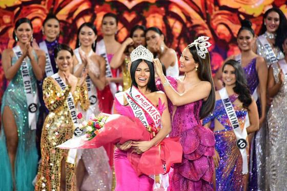 فيديو وصور ملكة جمال الفليبين الفلسطينية الأصل تؤدي رقصة شرقية وتبهر الجميع صورة رقم 1