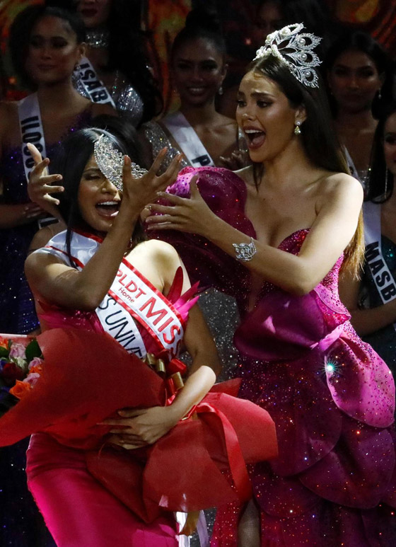 فيديو وصور ملكة جمال الفليبين الفلسطينية الأصل تؤدي رقصة شرقية وتبهر الجميع صورة رقم 17