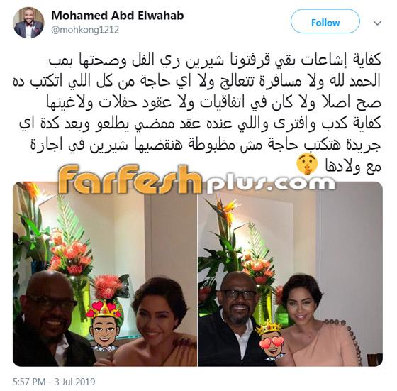 شيرين عبد الوهاب تدعم عاصي الحلاني وتتجاهل شائعات إسقاط حملها صورة رقم 5