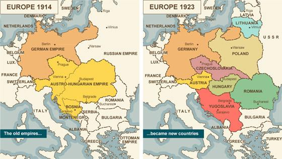 هكذا تخيل الألمان العالم لو انتصروا بالحرب العالمية الأولى صورة رقم 5