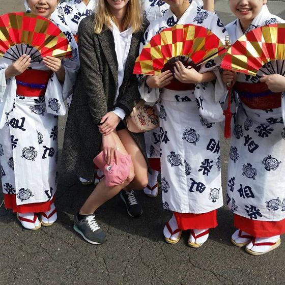 مجموعة صور تبين أن اليابان ليست بلداً لطوال القامة! صورة رقم 20