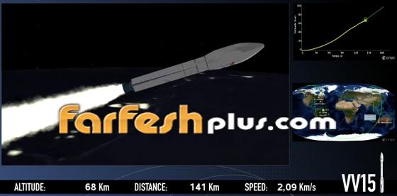 بالفيديو والصور- فشل في إطلاق صاروخ على متنه قمر صناعي إماراتي صورة رقم 9