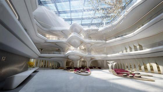 بالصور: فندق من تصميم المهندسة الراحلة زها حديد في دبي قريبا صورة رقم 1