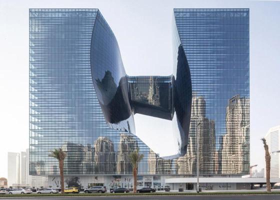 بالصور: فندق من تصميم المهندسة الراحلة زها حديد في دبي قريبا صورة رقم 3