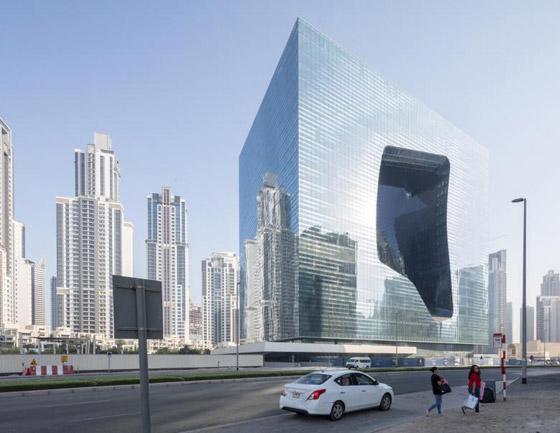 بالصور: فندق من تصميم المهندسة الراحلة زها حديد في دبي قريبا صورة رقم 4