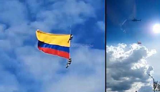 نهاية مأساوية لعسكريين كولومبيين انقطع حبلهما خلال عرض جوي صورة رقم 4