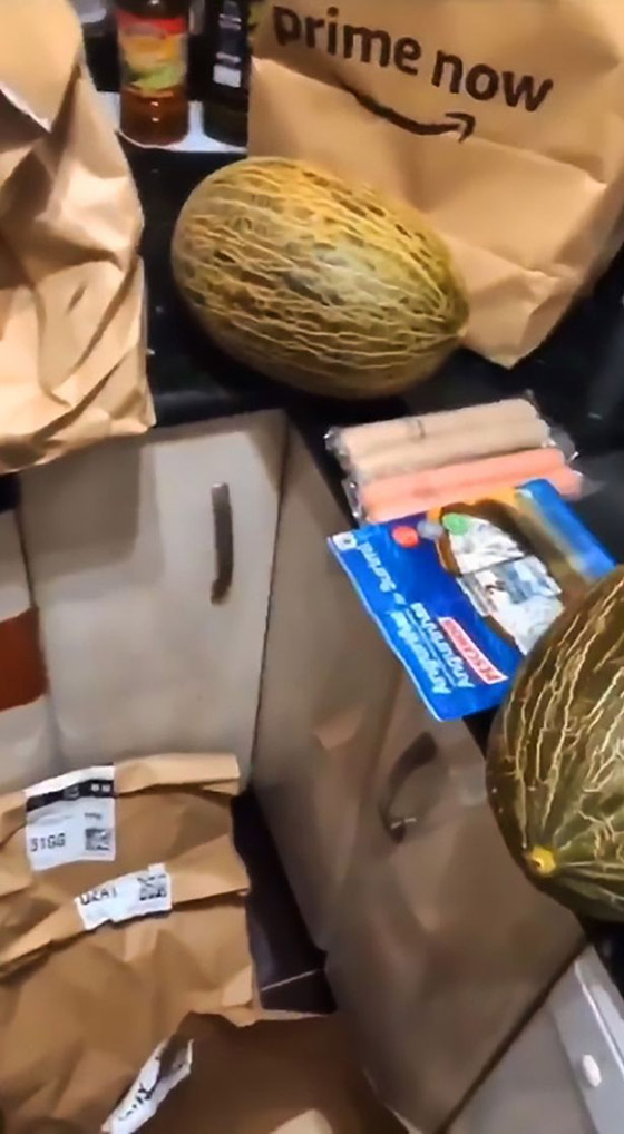 متسوق من أمازون يصاب بنوبة ضحك هستيرية لتسلمه 12 حبة شمام! فيديو صورة رقم 3