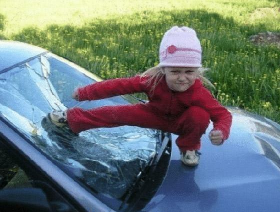 صور طريفة تظهر مدى جنون الأطفال الأشقياء ومشاكستهم صورة رقم 12