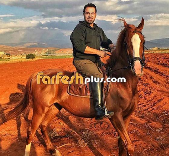 """عاصي الحلاني يكشف عن حالته الصحية وحقيقة إصابته """"بالعمى"""" بعد حادث سقوطه من فوق حصان صورة رقم 1"""