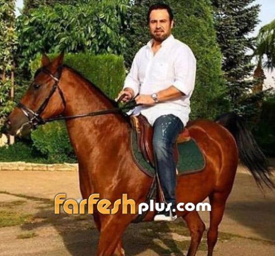 """عاصي الحلاني يكشف عن حالته الصحية وحقيقة إصابته """"بالعمى"""" بعد حادث سقوطه من فوق حصان صورة رقم 3"""