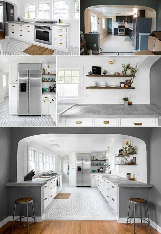 10 أفكار لتجديد ديكور المطبخ بطريقة عصرية صورة رقم 1