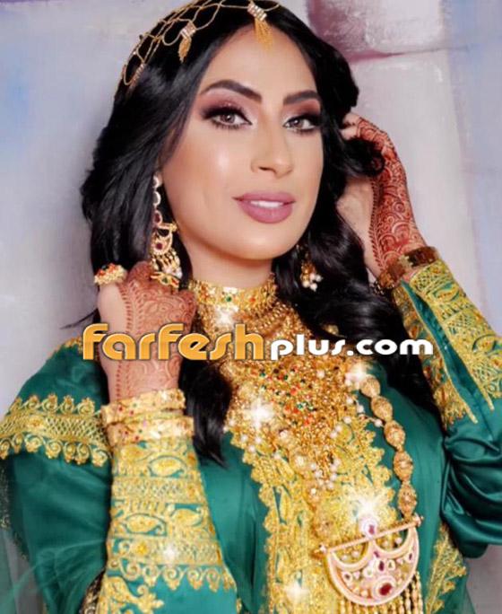 بالصور: الفنانات بأزياء خضراء وذهبية شعبية لليوم الوطني صورة رقم 2