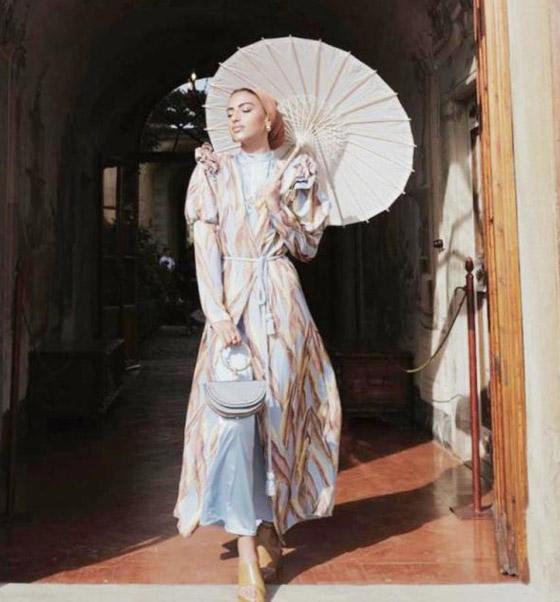 بالصور: أزياء عملية ومريحة للمحجبات من وحي السعودية يارا النملة صورة رقم 2