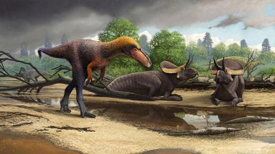 هكذا كانت الأرض خلال الساعات الأخيرة قبل انقراض الديناصورات صورة رقم 1