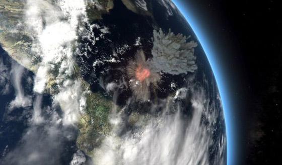 هكذا كانت الأرض خلال الساعات الأخيرة قبل انقراض الديناصورات صورة رقم 5
