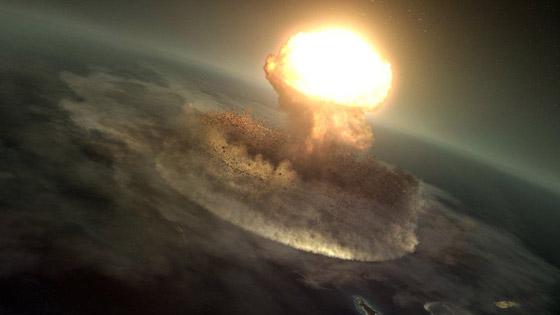 هكذا كانت الأرض خلال الساعات الأخيرة قبل انقراض الديناصورات صورة رقم 7