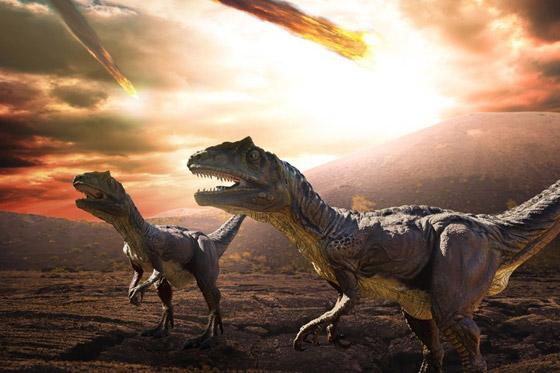 هكذا كانت الأرض خلال الساعات الأخيرة قبل انقراض الديناصورات صورة رقم 8
