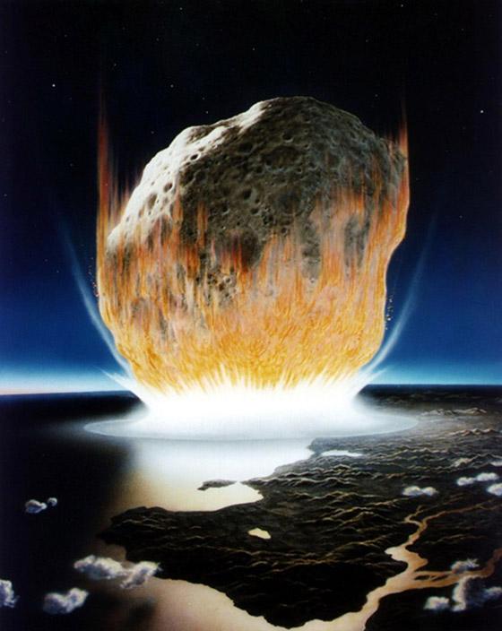 هكذا كانت الأرض خلال الساعات الأخيرة قبل انقراض الديناصورات صورة رقم 9