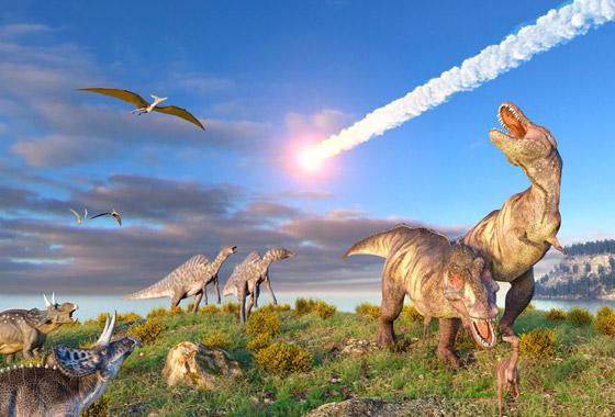 هكذا كانت الأرض خلال الساعات الأخيرة قبل انقراض الديناصورات صورة رقم 12