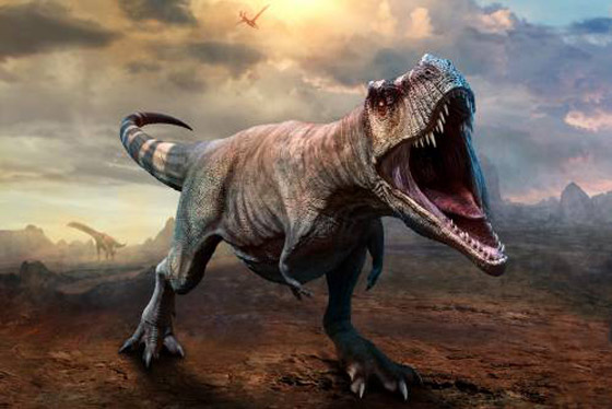هكذا كانت الأرض خلال الساعات الأخيرة قبل انقراض الديناصورات صورة رقم 13