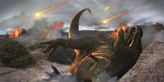هكذا كانت الأرض خلال الساعات الأخيرة قبل انقراض الديناصورات صورة رقم 14
