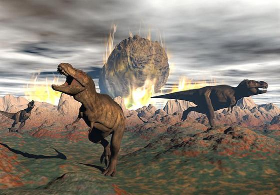 هكذا كانت الأرض خلال الساعات الأخيرة قبل انقراض الديناصورات صورة رقم 3