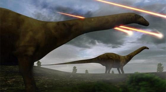 هكذا كانت الأرض خلال الساعات الأخيرة قبل انقراض الديناصورات صورة رقم 16