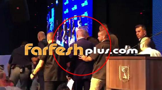 بالفيديو: هروب نتنياهو من قاعة عقب تعرضها لقصف صاروخي فلسطيني! صورة رقم 1