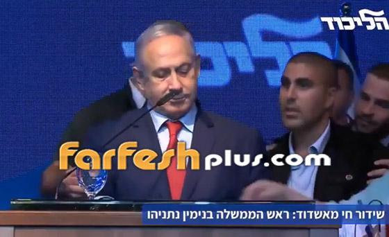 بالفيديو: هروب نتنياهو من قاعة عقب تعرضها لقصف صاروخي فلسطيني! صورة رقم 2