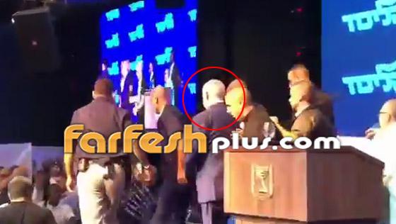بالفيديو: هروب نتنياهو من قاعة عقب تعرضها لقصف صاروخي فلسطيني! صورة رقم 9