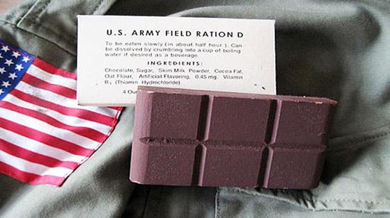 بشوكولاتة كالبطاطس.. انتصرت أميركا في الحرب العالمية صورة رقم 7