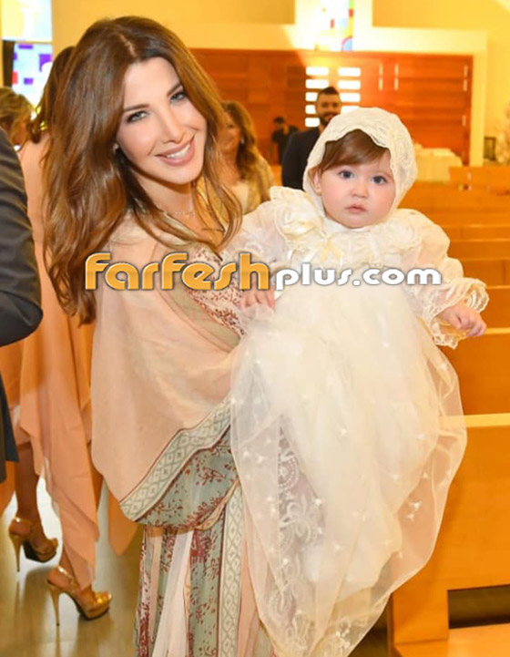 نانسي عجرم تنشر لأول مرة صورة لابنتها ليا.. جمالها يخطف القلوب صورة رقم 2