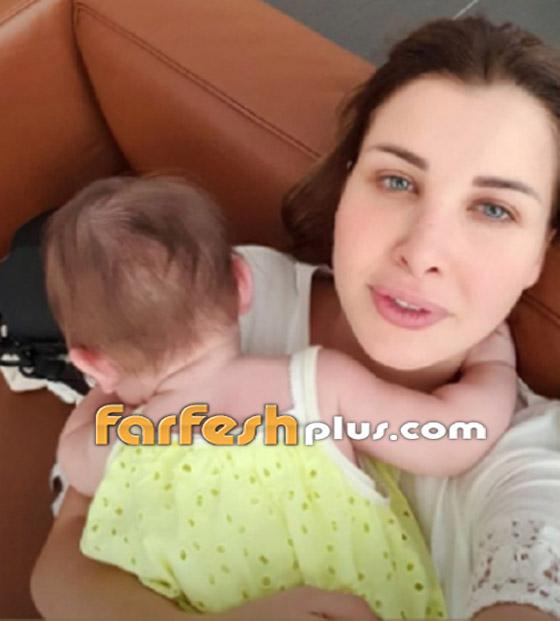 نانسي عجرم تنشر لأول مرة صورة لابنتها ليا.. جمالها يخطف القلوب صورة رقم 6