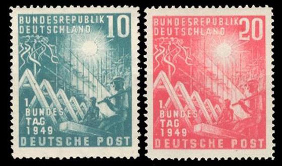 طوابع بريدية ألمانية قديمة تروي أحداثا تاريخية لا تنسى حول العالم صورة رقم 1