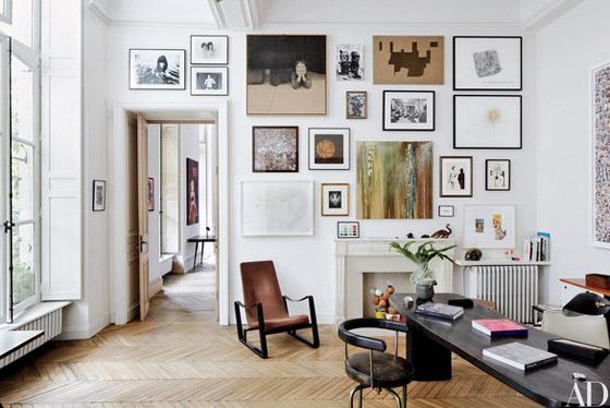 صورة رقم 2 - 10 أفكار لديكور الجدران الحديثة
