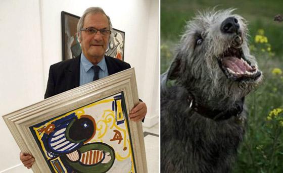 كلاب رسام شهير تهاجمه وتنهش فيه وتأكل من جثته في الأرياف! صورة رقم 4