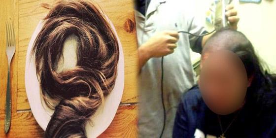 بنغالي حلق رأس زوجته بعد عثوره على شعرة في وجبة الفطور! صورة رقم 6