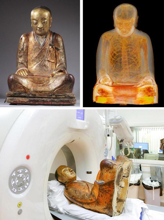 أغرب الأشياء التي عُثر عليها داخل تماثيل أثرية عمرها مئات السنين صورة رقم 4