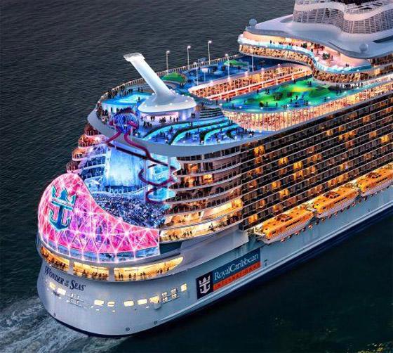 أعجوبة البحر جاهزة.. أكبر سفينة سياحية في العالم تستعد للإبحار صورة رقم 10