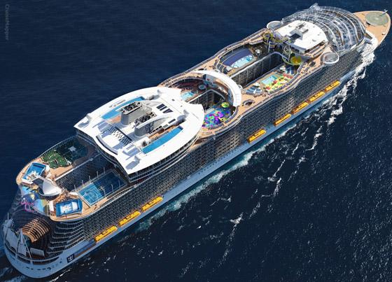 أعجوبة البحر جاهزة.. أكبر سفينة سياحية في العالم تستعد للإبحار صورة رقم 14