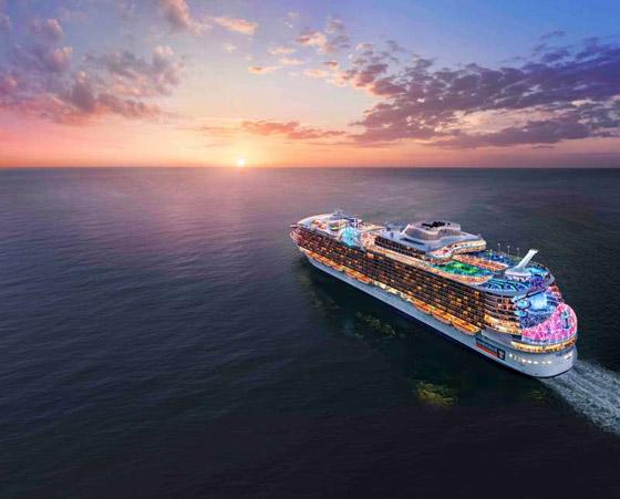 أعجوبة البحر جاهزة.. أكبر سفينة سياحية في العالم تستعد للإبحار صورة رقم 16