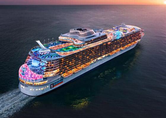أعجوبة البحر جاهزة.. أكبر سفينة سياحية في العالم تستعد للإبحار صورة رقم 20