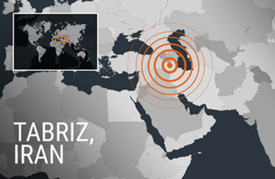 زلزال بقوة 5.9 يضرب إيران.. 5 قتلى و120 مصاباً صورة رقم 1