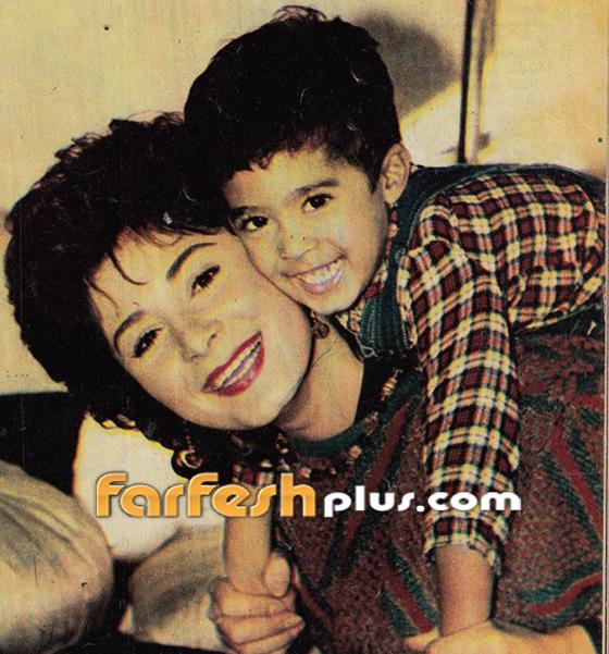 هكذا تحدثت الراحلة هالة فؤاد عن طفلها هيثم أحمد زكي صورة رقم 1