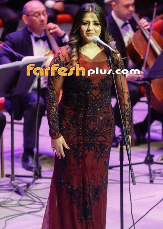 صورة رقم 16 - متسابقة ذا فويس إيمان عبد الغني تصدم الجميع بشكلها بعد خسارتها للوزن!