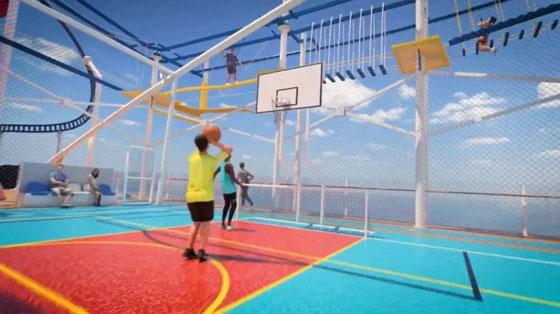 بالصور: ملعب غولف وسلة وأفعوانية وملاهٍ... مزايا رائعة في سفينة سياحية جديدة صورة رقم 6
