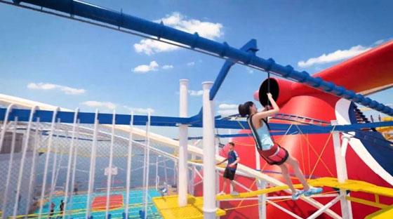 بالصور: ملعب غولف وسلة وأفعوانية وملاهٍ... مزايا رائعة في سفينة سياحية جديدة صورة رقم 7