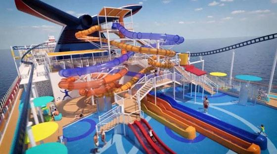 بالصور: ملعب غولف وسلة وأفعوانية وملاهٍ... مزايا رائعة في سفينة سياحية جديدة صورة رقم 4