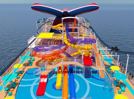 بالصور: ملعب غولف وسلة وأفعوانية وملاهٍ... مزايا رائعة في سفينة سياحية جديدة صورة رقم 14